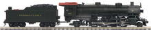 MTH Premier PRR Light Mikado steam loco, 2 rail, P3.0, DCC