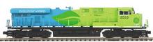 MTH Premier GE ES-44AC Demo scheme  diesel, 2 rail, P3.0,  DCC, sound, cruise, exhaust