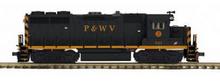 MTH Premier P&WV GP-35   diesel, 2 rail, P3.0,  DCC sound, cruise, exhaust