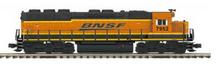 MTH Premier BNSF SD-45  diesel, 2 rail, P3.0,  DCC, sound, cruise, exhaust