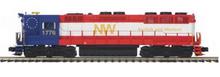 MTH Premier N&W Bicentenial High Hood SD-45  diesel, 2 rail, P3.0,  DCC, sound, cruise, exhaust