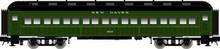 Atlas O New Haven (green) 60' coach,  2 rail or 3 rail