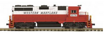 MTH Premier WM GP-35, diesel, 2 rail, p2.0 ,sound, exhaust, cruise