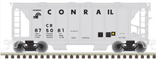 Preorder for Atlas O Conrail ACF 34' AC-2 Covered Hopper car, 3 rail or 2 rail