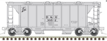 Preorder for Atlas O D&H ACF 34' AC-2 Covered Hopper car, 3 rail or 2 rail