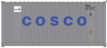 Pre-order for package of 2 Atlas O Cosco 20' containers