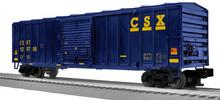 LionScale (former Weaver) CSX  50'  modern box car, 3 rail