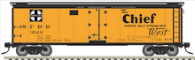 Pre-order for Atlas O Santa Fe 40' steel reefer, 3 rail or 2 rail