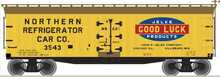 Pre-order for Atlas O Jelke Products 40' wood reefer, 3 rail or 2 rail