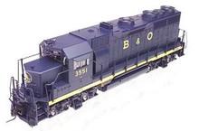 Atlas O B&O  GP-35,  3 rail, TMCC