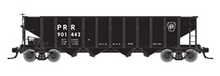 Pre-order for Atlas O PRR Black, 1960's scheme  H21a 4 bay hopper, 3 rail or 2 rail