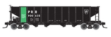 Pre-order for Atlas O PRR/PC ore service  H21a 4 bay hopper, 3 rail or 2 rail