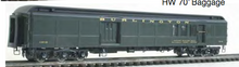 Pre-order for Golden Gate  Depot 70' Hvywt Baggage-Mail  car, AVAILABLE IN 24 DIFFERENT ROADS