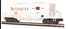 MTH Premier Burlington (CB&Q) Rapid Discharge Car, 3 rail