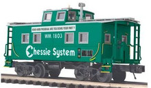 MTH Premier Chessie / WM Safety  Caboose (green) , 3 rail