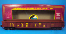 MTH Union Pacific diecast Gondola, 3 rail