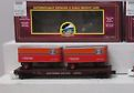 MTH Premier Southern Pacific Flat Car with (2) 20' Trailers, 3 rail
