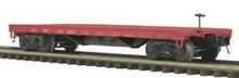 MTH Premier Santa Fe 50-ton 41' Flatcar, 3 rail