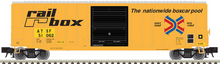 Pre-order for Atlas O (trainman) Railbox (ATSF reporting marks) 50' 1970's and later style box car,