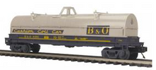 MTH Premier B&O Coil steel Car, 3 rail