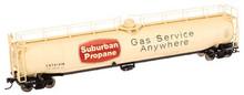 Atlas O Suburban Propane  33,000 gal LPG tank car, 3 rail or 2 rail