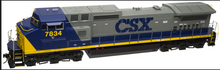 Atlas O CSX Dash 8-40CW, 2r, sound, exhaust, DCC equipped..June 2018 delivery