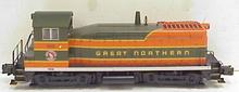 Atlas O  GN  SW-8  diesel, 2 rail, DC