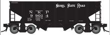 Pre-order for Atlas O Nickel Plate Road USRA 2 bay hopper car,  3 rail or 2 rail