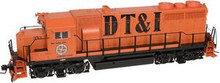 Atlas O DT&I GP-35,  3 rail, TMCC