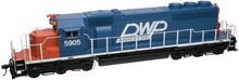 Atlas O DW&P SD-40,  3 rail, TMCC