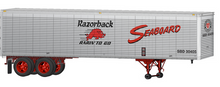Lionel 1960's style Seaboard (SAL) 40' trailer,  2 pack
