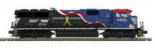 MTH Premier  NS SD-60E  Veterans Unit, 2 rail, w/Sound and smoke. proto 3.0