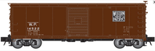 Atlas O WP USRA steel 40' box car, 3 rail or 2 rail