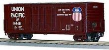 MTH Premier Union Pacific 50' Double Plug Door Box car, 3 rail LN