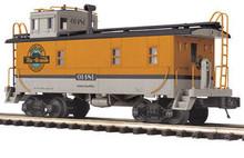 MTH Premier Denver & Rio Grande Steel Caboose , 3 rail