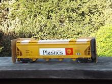 Weaver Shell Plastics 50' acf centerflow covered hopper, 2 rail or 3 rail