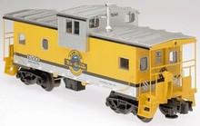 Atlas O Rio Grande (yellow) Extended Vision caboose, 3 rail