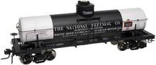 Atlas O National Refining 8000 gallon tank car, 3 or 2 rail