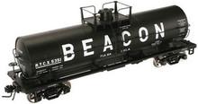 Atlas O Beacon Petrolium 11K tank car, 3 rail or 2 rail