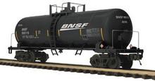 MTH Premier BNSF Tank Car (black), 3 rail