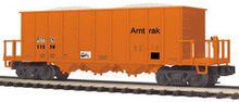MTH Premier Amtak Rapid Discharge Car, 3 rail