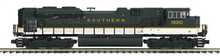 MTH Premier Southern SD70ACe, 2 rail,  p2.0, sound, cruise, exhaust