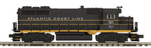 MTH Premier Atlantic Coast Line GP-35, deisel, 2 rail, p2.0 ,sound, smoke
