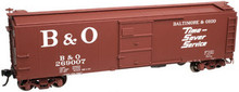 "Atlas O B&O ""Timesaver""  X-29 style 40' box car, 3 rail or 2 rail"