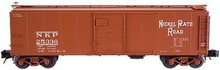 Atlas O NKP  X-29 style  40' box car, 3 rail or 2 rail