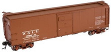 Atlas O Wheeling and Lake Erie  X-29 style  40' box car, 3 rail or 2 rail