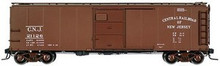 Atlas O CNJ (small lettering)  X-29 style  40' box car, 3 rail or 2 rail