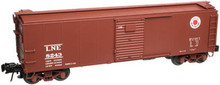 Atlas O LNE  X-29 style 40' box car, 3 rail or 2 rail