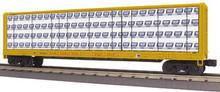 MTH Rail King Union Pacific Center I-Beam Flat Car, 3 rail
