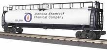 MTH Railking Diamond Shamrock Chemical Co 33k Gallon Tank Car, 3 rail